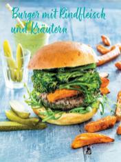 Rezept - Burger mit Rindfleisch und Kräutern - Simply Kochen Sonderheft Sommerrezepte