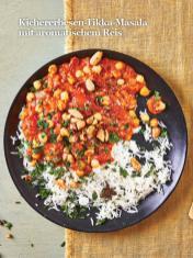 Rezept - Kichererbesen-Tikka-Masala mit aromatischem Reis - Healthy Vegan Sonderheft - Sommerspecial
