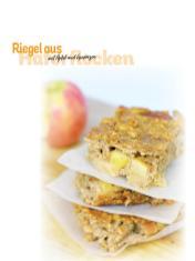 Rezept - Riegel aus Haferflocken mit Apfel und Gewürzen - Simply Kochen Sonderheft Frühstücksrezepte
