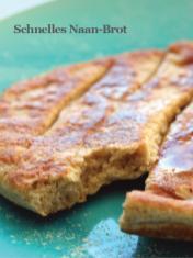 Rezept - Schnelles Naan-Brot - Healthy Vegan Sonderheft - Sommerspecial
