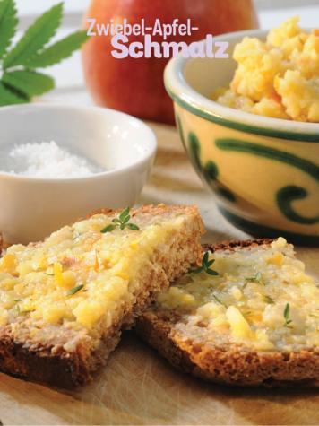 Rezept - Zwiebel-Apfel-Schmalz - Simply Kochen Sonderheft Frühstücksrezepte