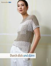Strickanleitung - Durch dick und dünn - Fantastische Strickideen 04/2019