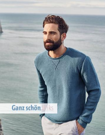 Strickanleitung - Ganz schön links - Fantastische Strickideen 04/2019