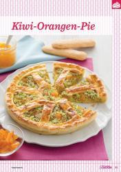 Backanleitung - Kiwi-Orangen-Pie - Das große Backen 05/2019