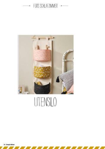 Nähanleitung - Utensilo - Simply Nähen - 05/2019