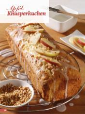 Rezept - Apfel-Knusperkuchen - Simply Backen Sonderheft Kuchen Äpfel + Pflaumen