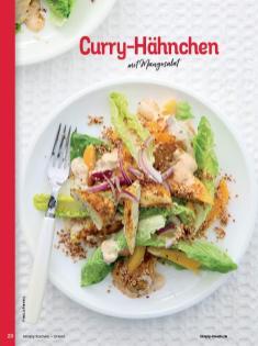 Rezept - Curry-Hähnchen mit Mangosalat - Simply Kochen Orientalisch - 05/2019
