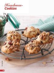 Rezept - Haselnuss-Cookies - Simply Backen - 04/2019