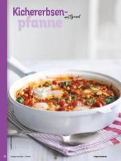 Rezept - Kichererbsen-Pfanne mit Spinat - Simply Kochen Orientalisch - 05/2019