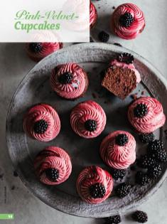 Rezept - Pink-Velvet-Cupcakes - Simply Backen - 04/2019