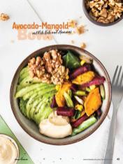 Rezept - Avocado-Mangold-Bowl mit Rote Bete und Hummus - Simply Kochen Sonderheft Bowls