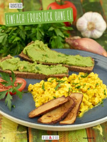 Rezept - Einfach Frühstück ohne Ei - Clean Food - olala solala mit Andrea Sokol - 01/2019