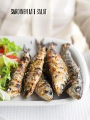 Rezept - Sardinen mit Salat - Bewusst Lowcarb Sonderheft - 02/2019