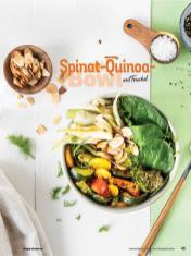 Rezept - Spinat-Quinoa-Bowl mit Fenchel - Simply Kochen Sonderheft Bowls