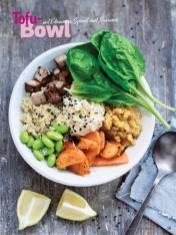 Rezept - Tofu-Bowl mit Edamame, Spinat und Hummus - Simply Kochen Sonderheft Bowls