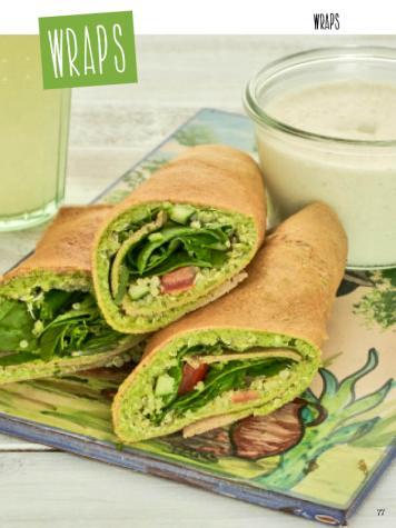 Rezept - Wraps - Clean Food - olala solala mit Andrea Sokol - 01/2019