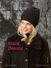 Strickanleitung - Black Beauty - Simply Stricken Mützenspecial - Mützen und Accessoires stricken - 01/2019