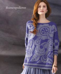 Strickanleitung - Blumenpullover - Designer Knitting - 05/2019