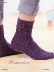 Strickanleitung - Muscadine - Simply Kreativ - Best of Socken Stricken - 01/2019