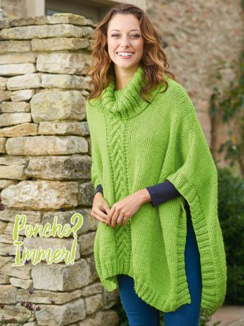 Strickanleitung - Poncho? Immer! - Simply Kreativ – Best of Simply Stricken Accessoires