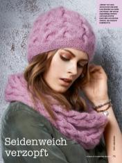 Strickanleitung - Seidenweich verzopft - Simply Stricken Mützenspecial - Mützen und Accessoires stricken - 01/2019