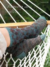 Strickanleitung - Tarnung ist alles - Simply Kreativ - Best of Socken Stricken - 01/2019
