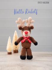 Häkelanleitung - Hallo Rudolf - Simply Häkeln 01/2020