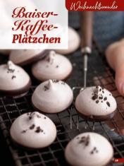 Rezept - Baiser-Kaffee-Plätzchen - Simply Kreativ Glutenfrei Weihnachtsbacken – 01/2019