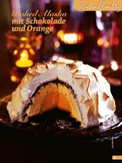 Rezept - Baked Alaska mit Schokolade und Orange - Simply Backen Special Weihnachtskuchen