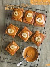 Rezept - Bananen-Toffee-Blechkuchen - Simply Backen Special Weihnachtskuchen