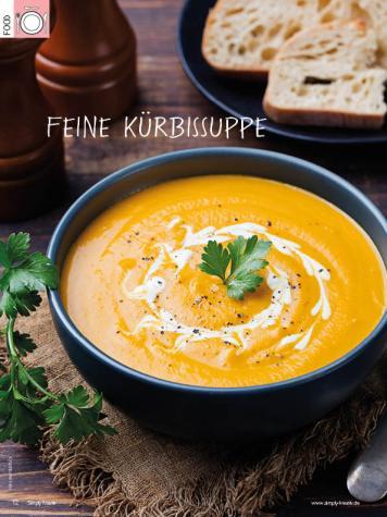 Rezept - Feine Kürbissuppe - Simply Kreativ Heft 04/2019