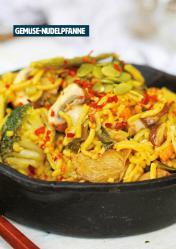 Rezept - Gemüse-Nudelpfanne - Healthy Vegan 06/2019