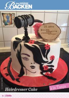 Rezept - Hairdresser-Cake - Das große Backen 06/2019