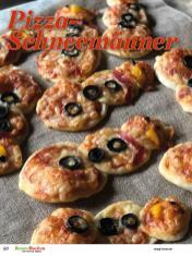 Rezept - Pizza-Schneemänner - Simply Backen Plätzchen backen mit Tommy Weinz 04/2019