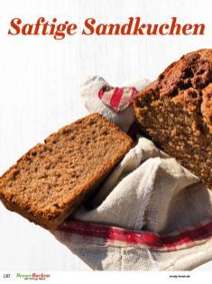 Rezept - Saftige Sandkuchen - Simply Backen Plätzchen backen mit Tommy Weinz 04/2019