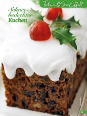 Rezept - Schneebedeckter Kuchen - Simply Backen Special Weihnachtskuchen