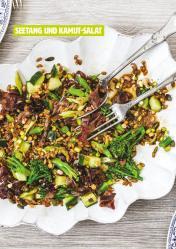 Rezept - Seetang und Kamut-Salat - Healthy Vegan 06/2019