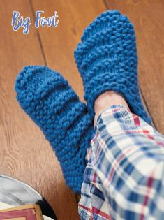 Strickanleitung - Big Foot - Simply Kreativ – Best of Simply Stricken Socken