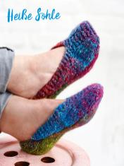 Strickanleitung - Heiße Sohle - Simply Kreativ – Best of Simply Stricken Socken