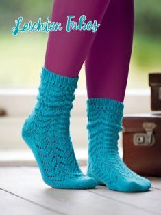 Strickanleitung - Leichten Fußes - Simply Kreativ – Best of Simply Stricken Socken