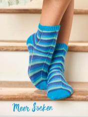 Strickanleitung - Meer-Socken - Simply Kreativ – Best of Simply Stricken Socken