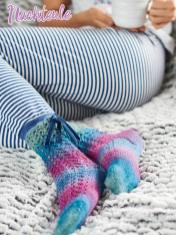 Strickanleitung - Nachteule - Simply Kreativ – Best of Simply Stricken Socken