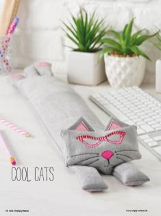 Nähanleitung - Cool Cats - Best of Simply Nähen Home-Deko & Accessoires