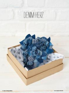 Nähanleitung - Denim-Herz - Best of Simply Nähen Home-Deko & Accessoires