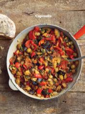 Rezept - Caponata - Healthy Vegan Sonderheft - Vegan Jahrbuch