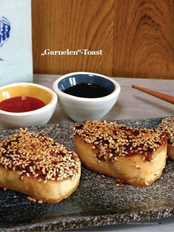 "Rezept - ""Garnelen""-Toast - Healthy Vegan Sonderheft - Vegan Jahrbuch"