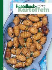 Rezept - Hasselback-Kartoffeln mit Oregano - Simply Kochen Weihnachts-Menü – 05/2019