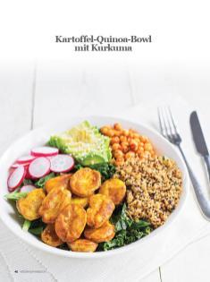 Rezept - Kartoffel-Quinoa-Bowl mit Kurkuma - Healthy Vegan Sonderheft - Vegan Jahrbuch