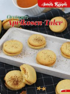 Rezept - Orangen-Aprikosen-Taler - Simply Backen Sonderheft Weihnachtsbacken mit Janet & Jasmin 01/2019