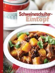 Rezept - Schweineschulter-Eintopf mit Ananas - Simply Kochen Weihnachts-Menü – 05/2019